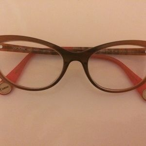 Woow Come on 2 Eyeglass Frames Handmade in Italy